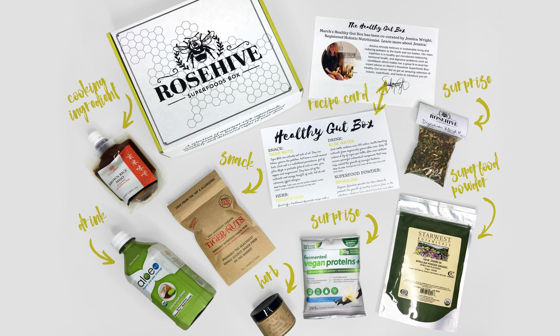 Rosehive Superfood Subscription Box