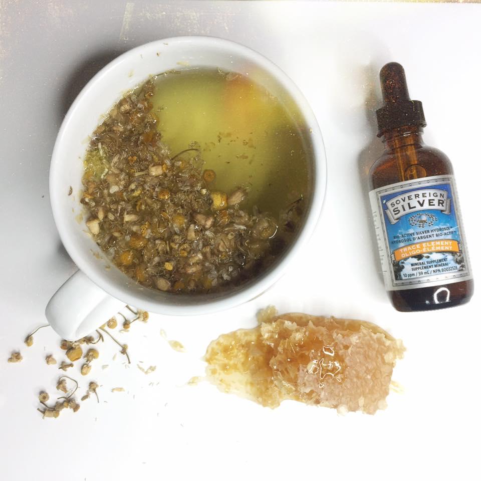 chamomile-silver-tea