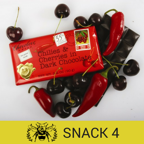 Chocolove Chilies & Cherries in Dark Chocolate