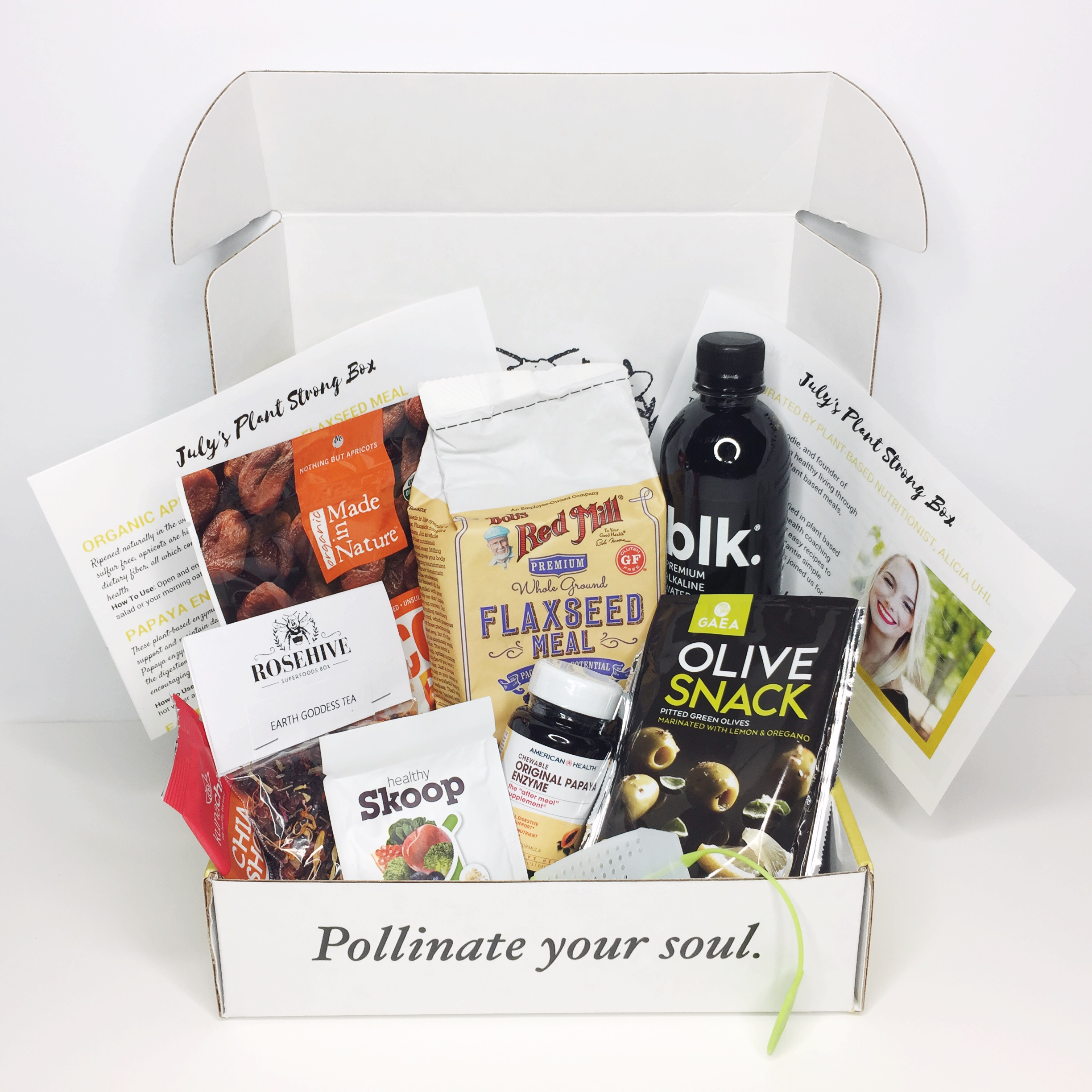 monthly subscription box for health nuts