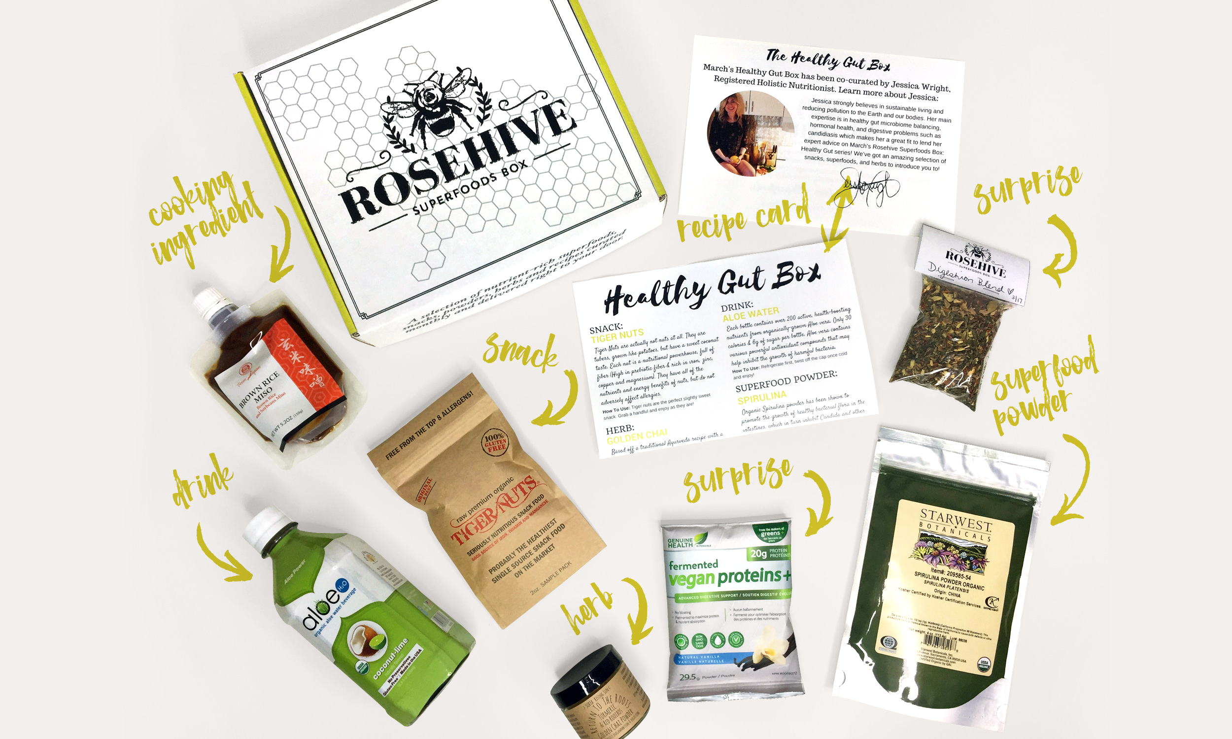 rosehive superfoods box for elevating your health